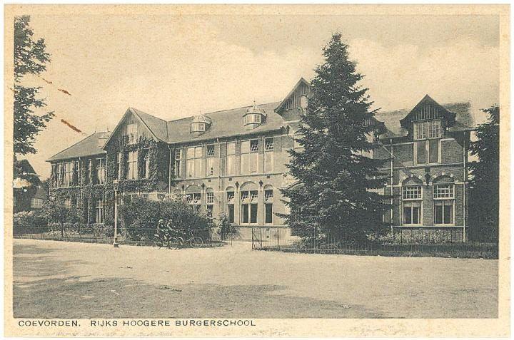 Rijks Hoogere Burgerschool in Coevorden. Het volle album is te zien op http://www.flickr.com/photos/jenmpictures2012/sets/72157640106542443/