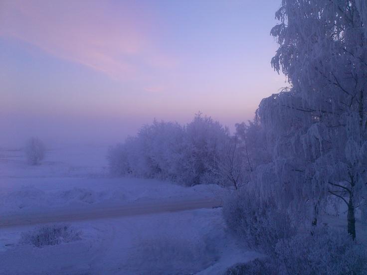 Winter in Skåne, Sweden