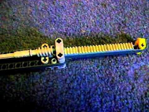 lego  linear actuator - YouTube