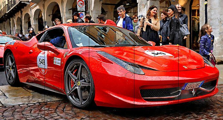 Ferrari 458 Italia Berlinetta at Mille Miglia. Discover @Treniq