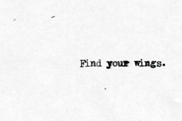 missing people with wings...Missing my wings too!It's such a beauty knowing how to fly!