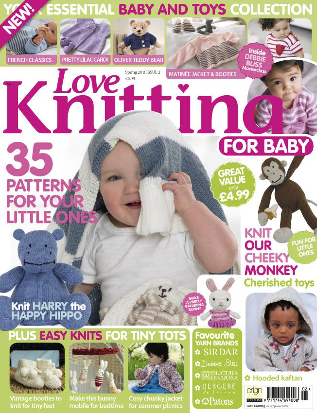 New Love Knitting for Baby magazine | The Yarn Loop