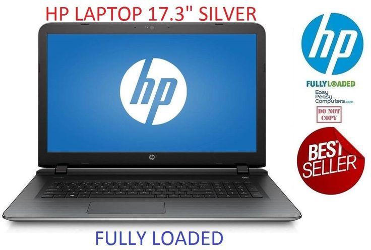 "NEW HP Laptop Computer 17.3"" Windows 10 Webcam DVD+RW Webcam WiFi (FULLY LOADED) #HP #laptop #laptops #cheaplaptops #laptopsforsale #laptopdeals #notebook #newlaptop #bestlaptop #hplaptop #delllaptop  #laptopsforcollege"