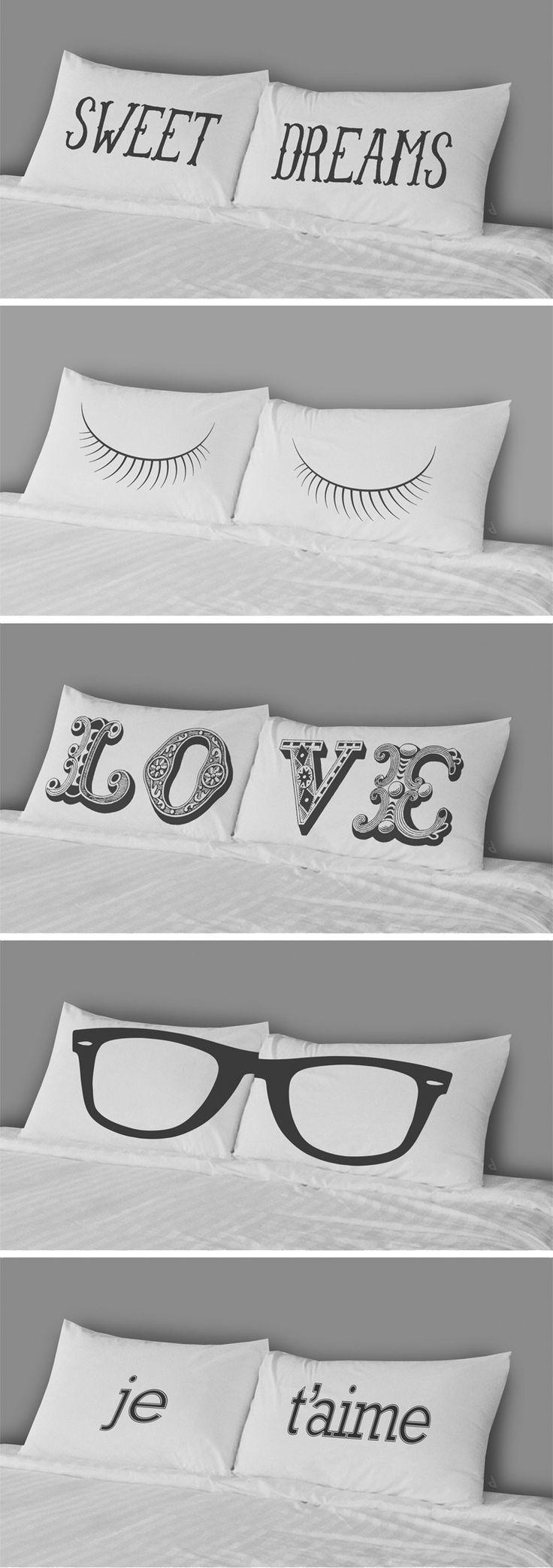 Sweet Dreams // fun pillowcase designs