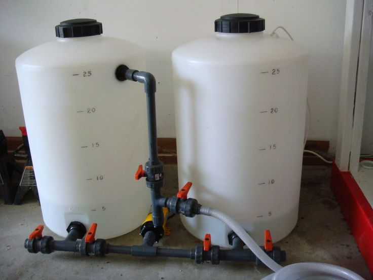 14 Best Images About Diy Saltwater Mixing Station On