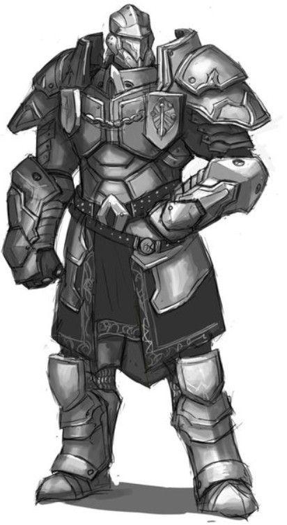 Idea for mecha armor