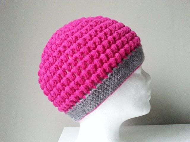czapka szydełkowa, crochet cap , video tutorial