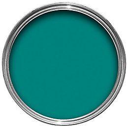 Dulux Feature Wall Proud Peacock Matt Emulsion Paint 1.25L | Departments | DIY at B&Q
