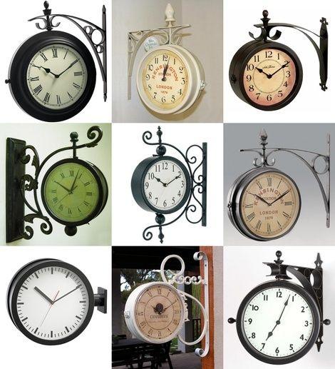 Old train station clocks by brittney
