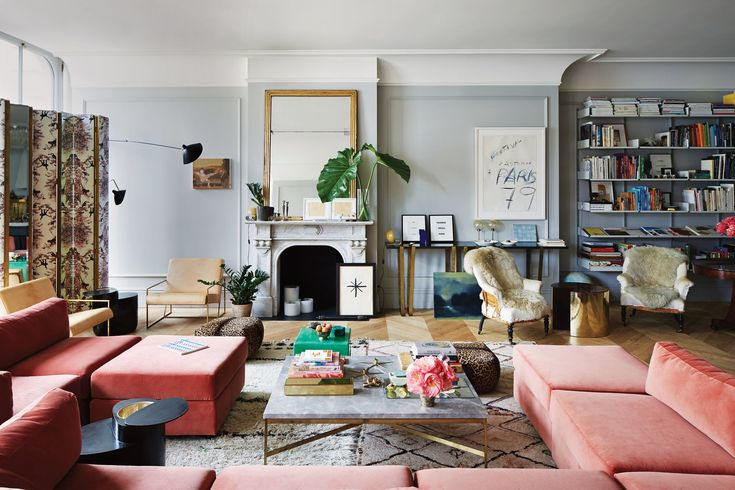 The woman who launched a generation of copycats makes a home that's truly inimitable.