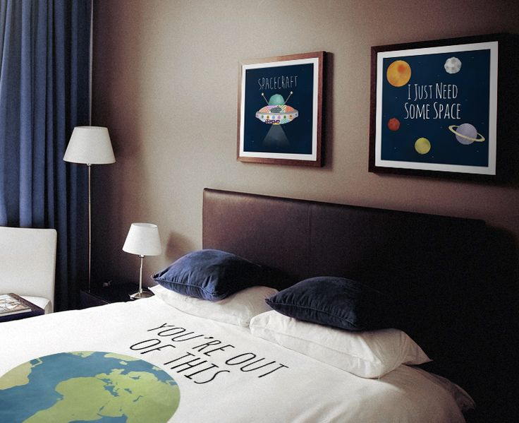 Your Own Personal SPACE | Looking for some bedroom decor that is out of this world? Houston… we have… click to read full article