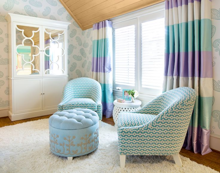 253 best images about combo of blue purple interior - Blue and purple bedroom curtains ...