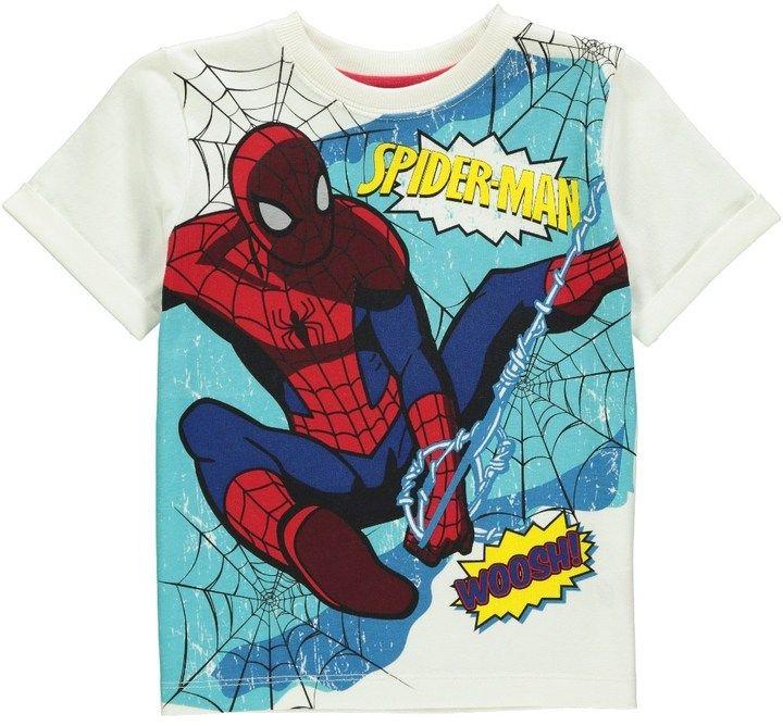 Spiderman Boys Print T-Shirt (2-9yrs) on shopstyle.co.uk