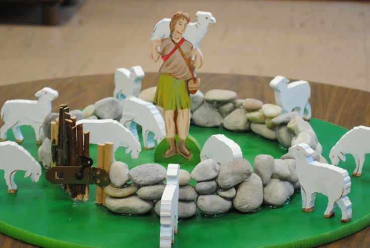 The Good Shepherd- painted by Isidore Bard