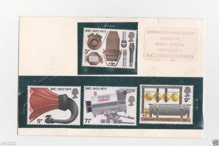 GB 1972 BBC SCOTT 676-679 STAMP UK MNH
