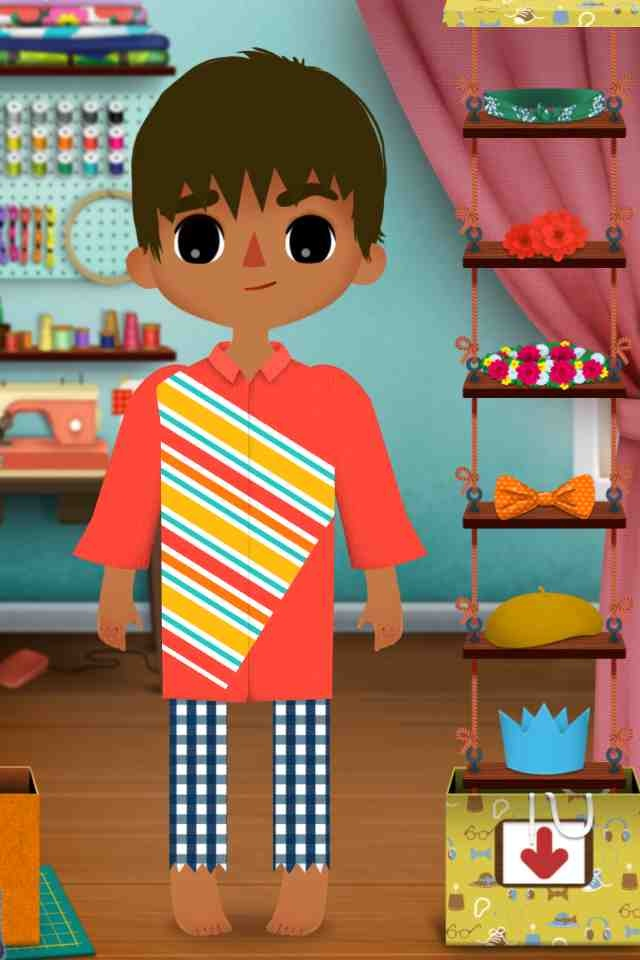 Toca Tailor - this would have to be one of the coolest dress up iPad apps in the world. Users have the ability to select various creative designs and clothing apparel and the sound effects are hilarious if your model does not approve your selection. RIG rating 10/10
