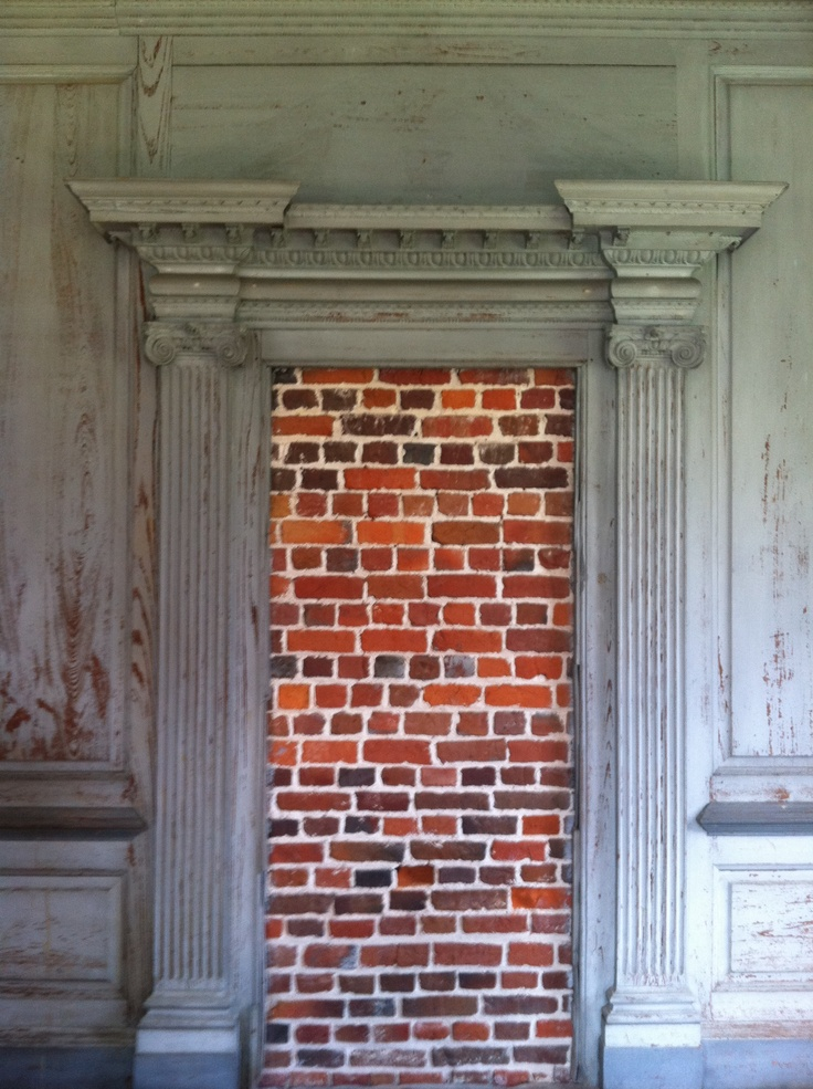 Bricked up doorway in Drayton Hall & 90 best Bricked up images on Pinterest | Bricks Brick walls and ... Pezcame.Com