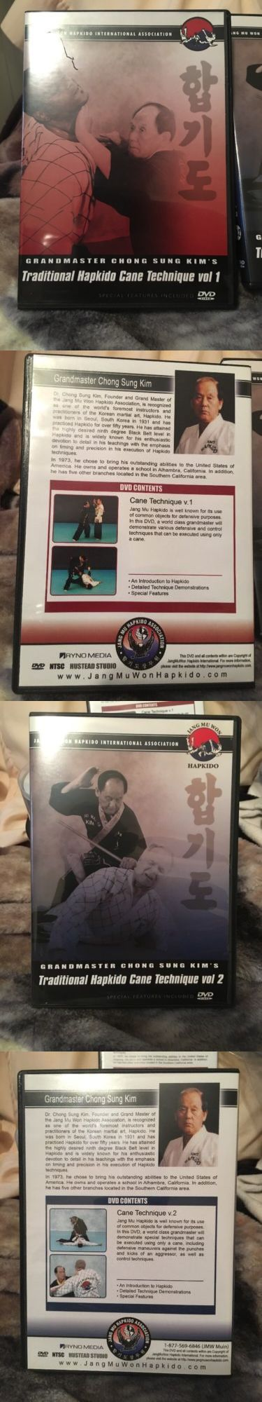 DVDs Videos and Books 73991: Hapkido Cane Self Defense Vol 1 And 2 -> BUY IT NOW ONLY: $70 on eBay!