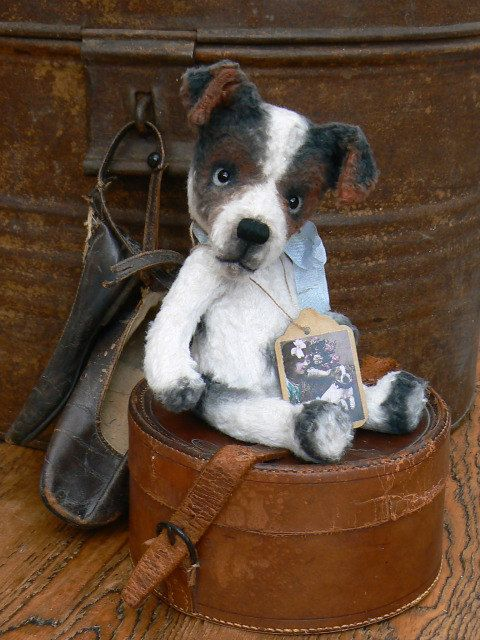 Sewing Pattern For 6.5 inch Jack Russel Jacky PDF by noblefabric
