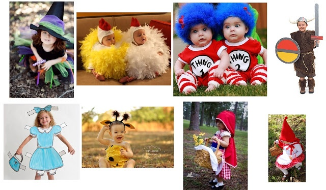 Halloween Costume Inspiration Board! | One Good Thing by Jillee