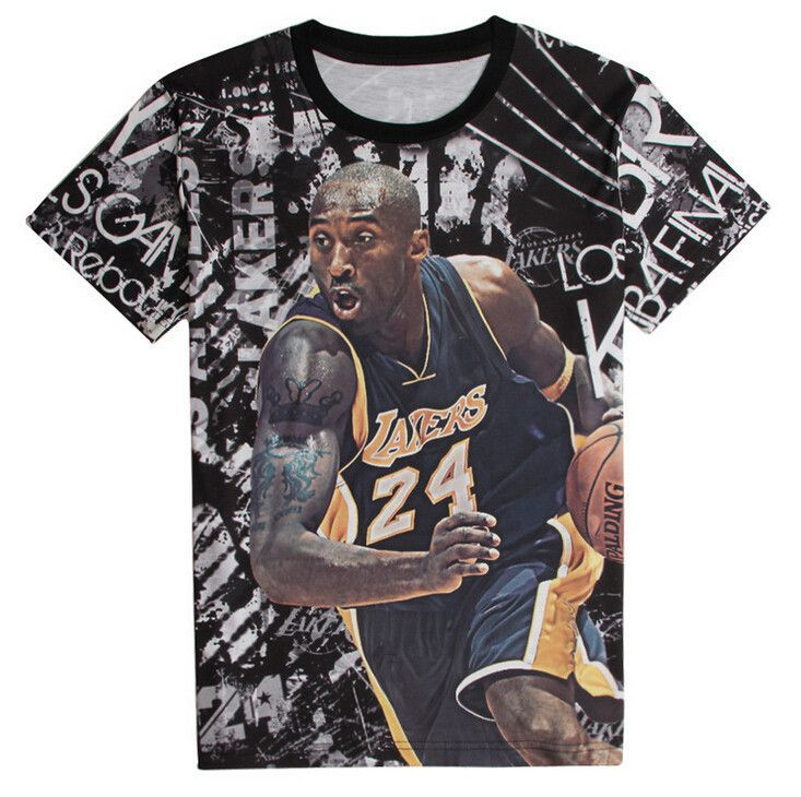 Want shirt of Kobe Bryant? - Perfect for any LA Lakers or Kobe Bryant lovers! - While Supplies Last! Limit 10 Per Order Please allow 4-6 weeks for shipping Item Type: Shirt Material: Cotton Collar: O-