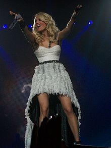 Carrie Underwood was born in Muskogee, Oklahoma and grew up in nearby Checotah.