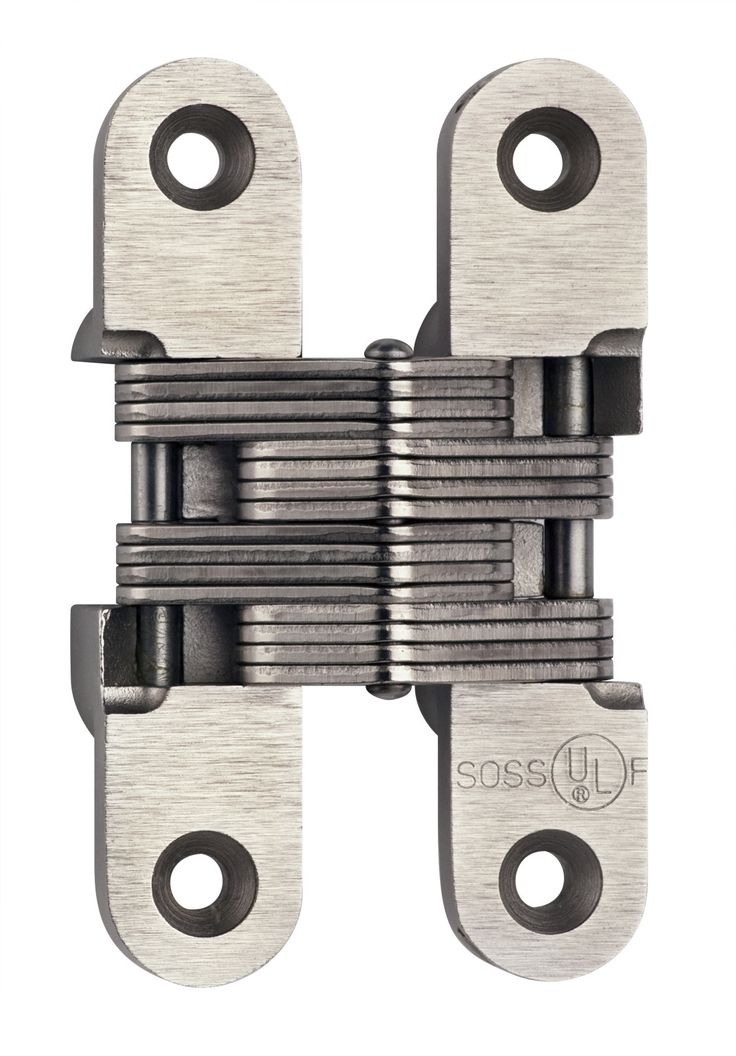 Features:  -Material: Alloy / Stainless Steel.  -90/180 Min UL Fire Rating, 1 each.  Hinge Type: -Invisible/Concealed.  Number of Mounting Holes: -4.  Style: -Modern. Dimensions:  Overall Product Weig