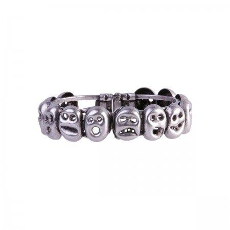 Lacrom - Vittorio Ceccoli Jewelry Design - Munk Bracelet In galvanized brass.