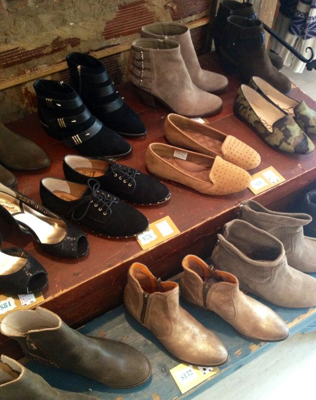 Booties and Loafers.