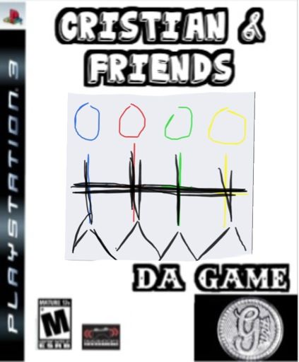 Have a video game about me and my friends
