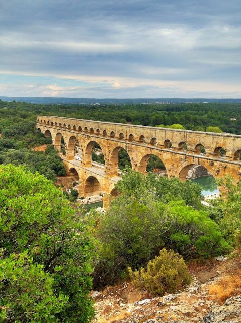10 Most Beautiful Bridges in the World, Pont du Gard, looks like where we shot our music video for The Reaper but that was in Naples :)