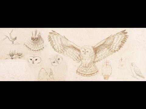 Как нарисовать сову - YouTube