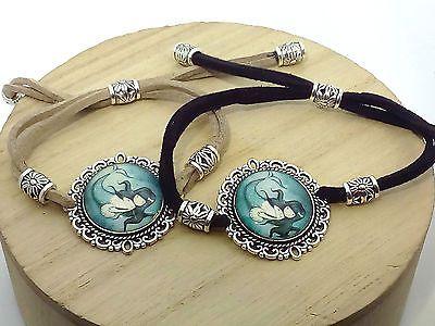 Braccialetto Donna Ragazza Bambina Sirena Bracciale Idea regalo moda