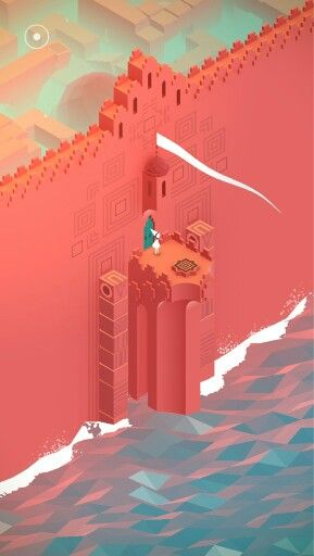 This game is gorgeous - monument valley.