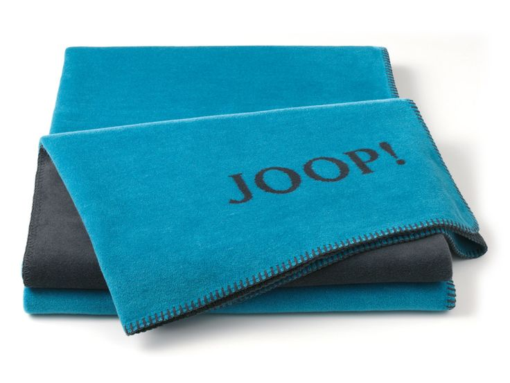 JOOP! Tagesdecke Uni-Doubleface gold,anthrazit  anthrazit/gold