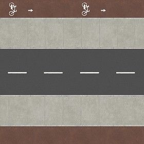Textures Texture seamless | Dirt road texture seamless 07658 | Textures - ARCHITECTURE - ROADS - Roads | Sketchuptexture