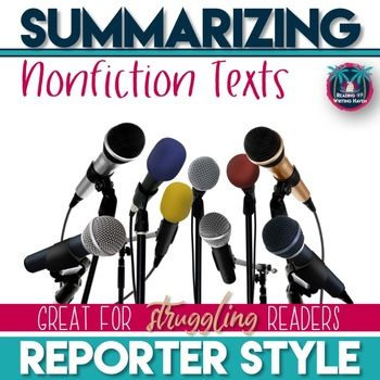 Summarizing Nonfiction Texts: This product, newly improved, contains presentation (in PDF format) and guided notes that will provide the basics for teaching students how to summarize a nonfiction text. With purchase, you will also receive two different worksheets (sold separately in my store - called Nonfiction Summarizing Practice) to use as practice for nonfiction texts (one provides links to relevant, high-interest news clips, and the other can be used with any nonfiction text).