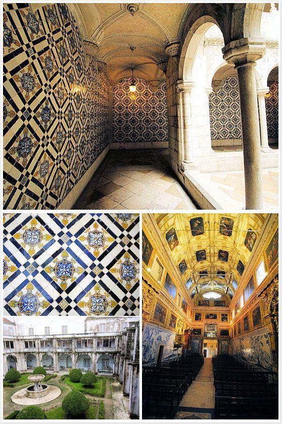 Tile Museum Portugal : Tile museum lisbon portugal travel addict pinterest