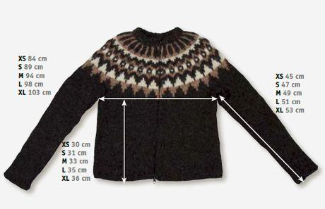 Strik en islandsk sweater Livsstilsmagasin, mode, horoskoper, opskrifter, accessories, konkurrencer, overgangsalder, parforhold, kærlighed