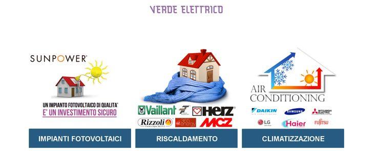 Con Verde Elettrico è possibile ogni soluzione per il caldo e per il freddo. #VerdeElettrico #riscaldamento #climatizzazione #impianti #fotovoltaici #energia #risparmio #fotovoltaico #Torino #Piemonte #green #solare #freddo #caldo #condizionatori #sole