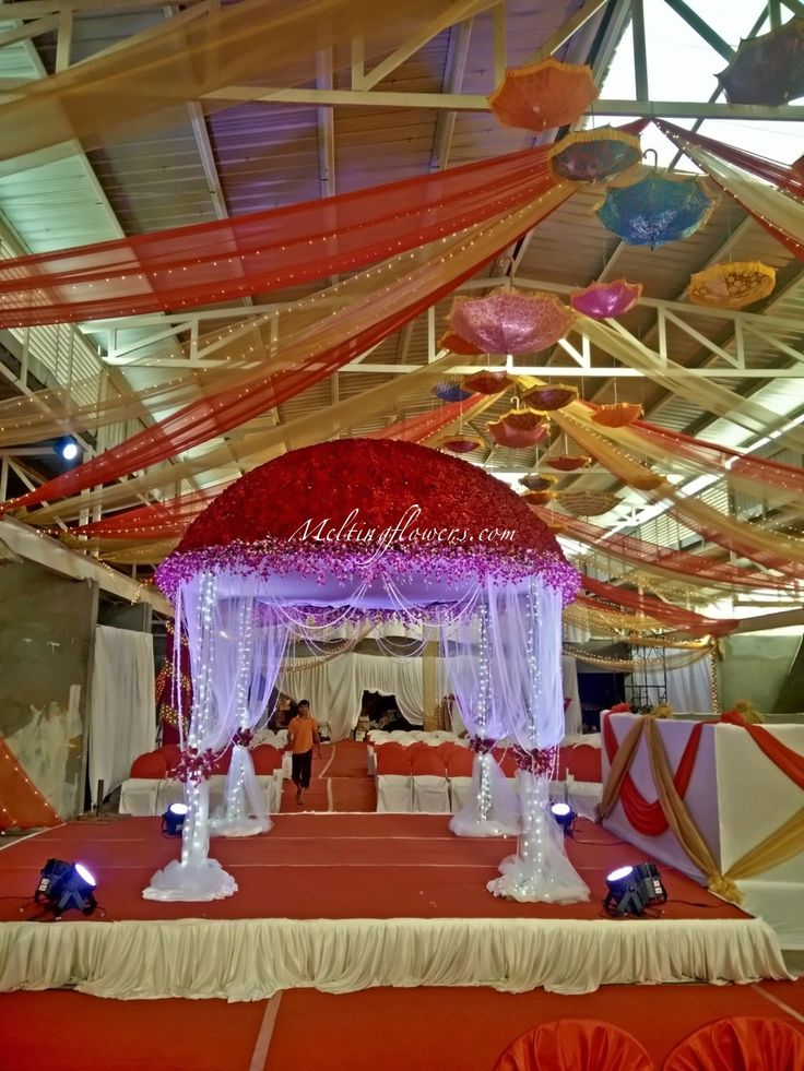 wedding stage decoration pics%0A Mandap Adornment Themes To Make It Stupefying  mandapDecoration   weddingDecorations  FlowerDecoration  weddingTips