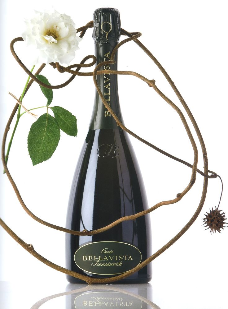 Franciacorta Bellavista Cuvée Brut. Of all the Bellavista wines, the Cuvée Brut is that which best represents the area of Franciacorta. Its balance lies in the combination of at least thirty selections. Bellavista Winery #Franciacorta #Tuscany #Italy #wine http://www.bellavistawine.it/.  Photo by Olviero Toscani.