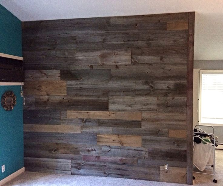 Grey Brown Accent Wall Barn Wood Pinterest Accent Walls