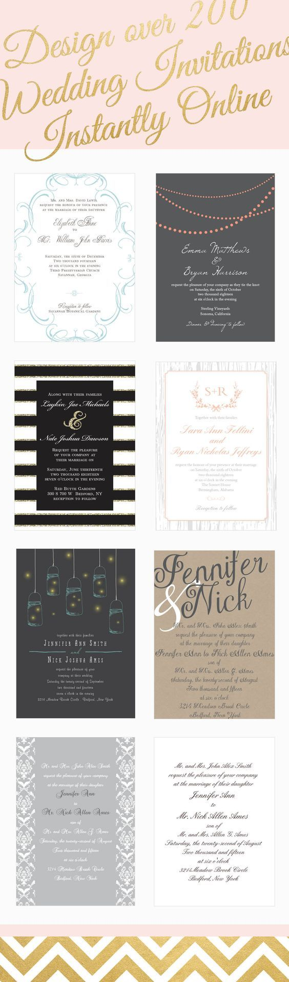 next day wedding invitations%0A Design your wedding invitations online today  Click here  http   www