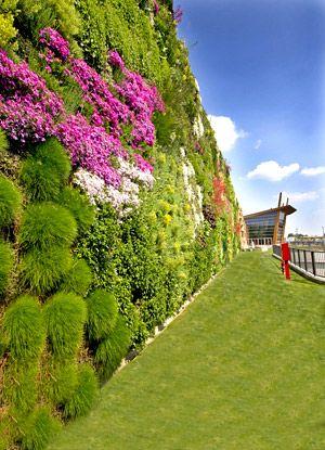 Vertical #Gardens in Rozzano, Italy | #giardini verticali Rozzano (MI)