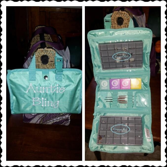 My Origami Owl Starter Kit S Wonderfully Inside Thirty One Timeless Beauty Bag Folds Up Compact So I Can Keep It Display Ideas