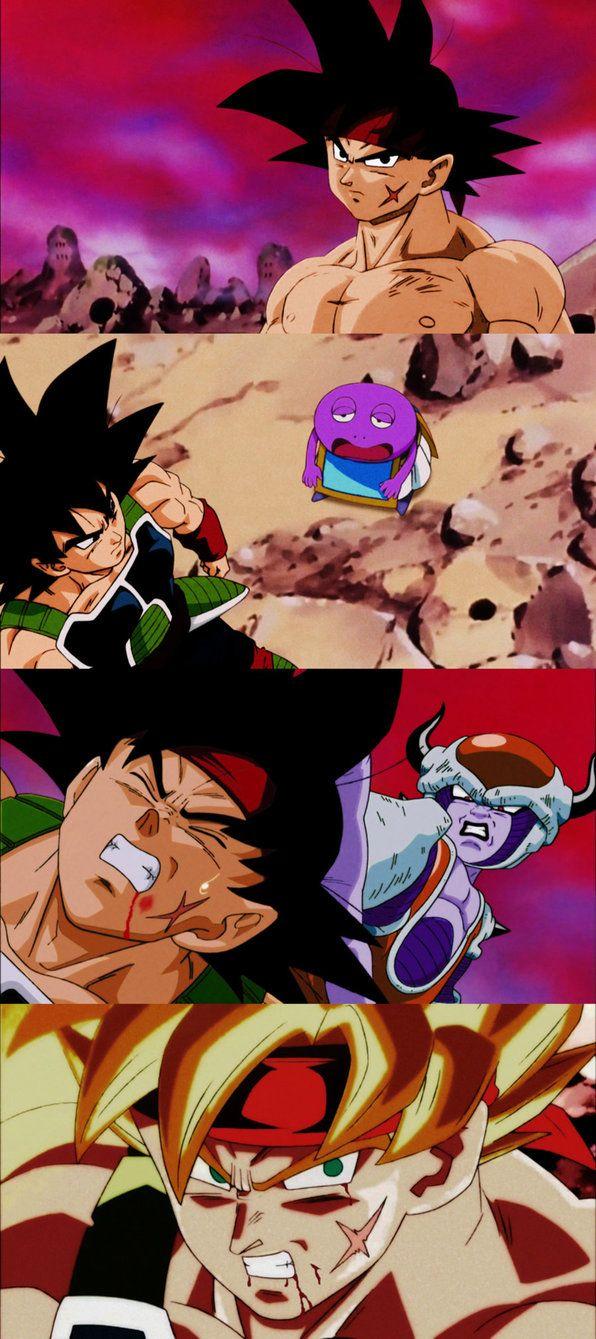 Episode of Bardock draw in the classic Dragon Ball Z art style. #SonGokuKakarot