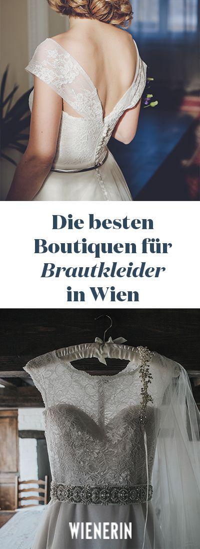 In einen Traum aus Tüll oder Spitze zu schlüpfen kann schon was! Für alle Bräute und die, die es mal probieren möchten, gibt es hier die Top-Adressen in Wien #brautmoden #brautkleid #wien #winterhochzeit