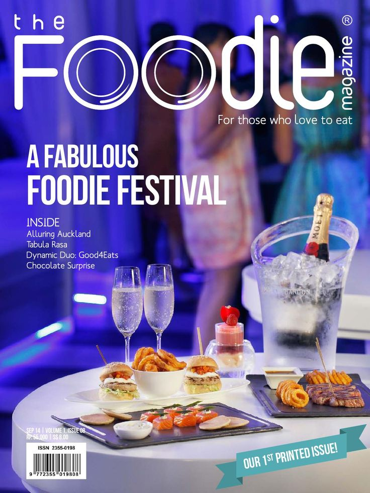 THE FOODIE MAGAZINE SEPT 2014