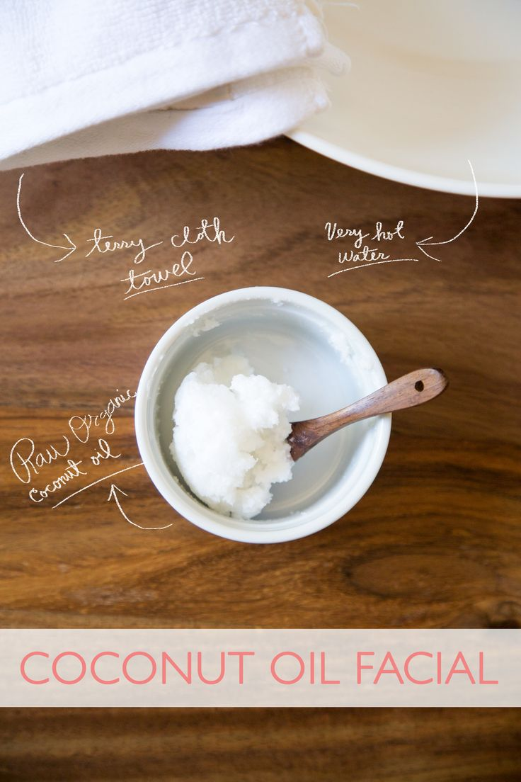 how to clean face with coconut oil